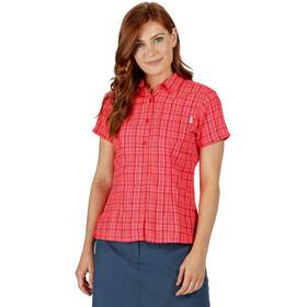 Regatta Mindano V Koszulka Kobiety, neon pink check